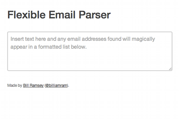 Flexible Email Parser